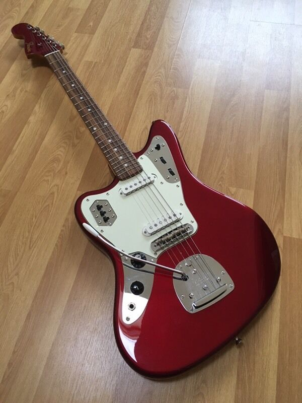 sunburst colour with special fender jaguar bag scmusic guitar player hh classic gig product