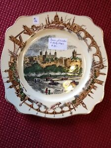 The Tower of London collectible Plate 1940's