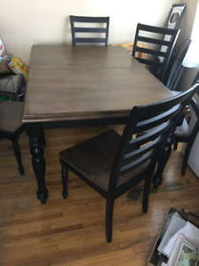 French Provincial 7 piece dining set