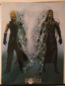 Final Fantasy 7 VII Advent Children Wall Scroll Poster Art