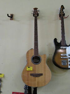4 String Ovation Celebrity CC074 Acoustic Bass Guitar