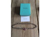 Genuine Return to Tiffany sterling silver choker necklace