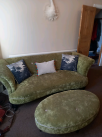 4 seater 3 seater and footstool sofas