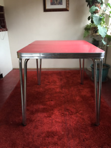 Arborite Table - Dining Table Vintage