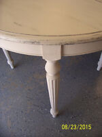 Shabby Chic Oak Dining Set by Drexel Furniture