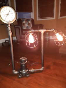 INDUSTRIAL STEAM PUNK LAMP