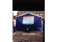 Raclet trailer tent caravan
