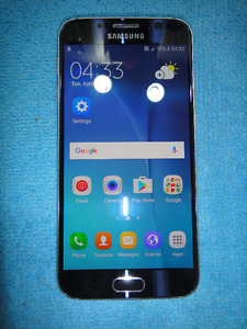 SAMSUNG GALAXY S6 32 GB MINT condition with Videotron
