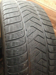 4 Pirelli Scorpion winter tires 255-60-18