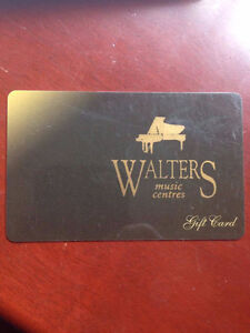 Walters Music Centre Gift Card