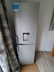 Silver beko frost free fridge freezer for parts
