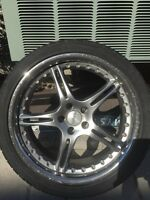 """VW 18"""" Mags & Tires $ 450 NEGO"""