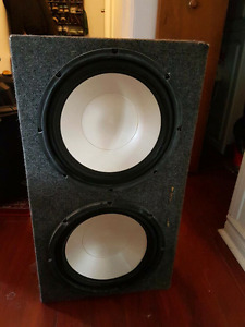 12 inch subwoofer box infinity