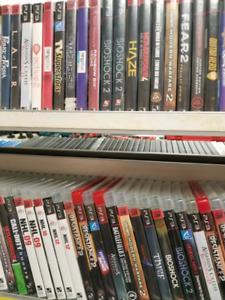 Lot de 100 Jeux PS3 pour 300$ Au Choix