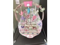 Fisher price baby girls bouncy chair