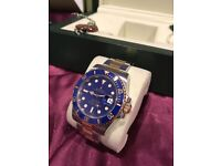 Rolex Submariner 116613 LB 2017 With Box And Papers Blue and Gold Bi Metal Sub watch