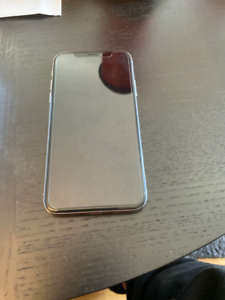 Silver iPhone X 64 GB Unlocked - 10/10 Condition