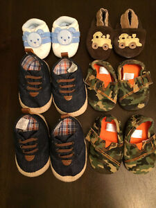 Twin boys shoes 0-6 month