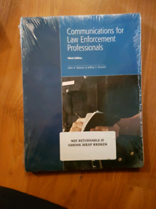 Communications for law enforcement professionals third edition
