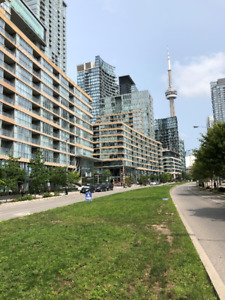 1 Bedroom Condo with Parking For Rent (Spadina Ave/Fort York Bl)