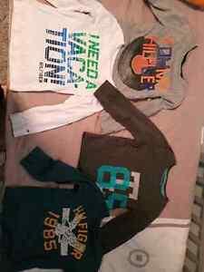 Four tommy hilfigure shirts size 4T mint condition  Edmonton Edmonton Area image 1