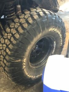 Almost new 35-12.5-15's