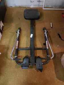 Old school rowing machine, good condition