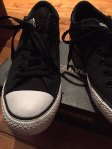 Converse all star black shoe