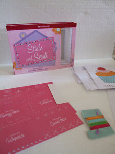 American Girl Stitch and Send greeting cards kit - Brand new London Ontario image 1