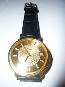 18K Solid Gold Vintage Longines Admiral 5 Stars