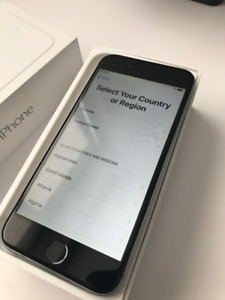 Unlocked Iphone 6 - 128gb - Space Grey - 9/10 Condition