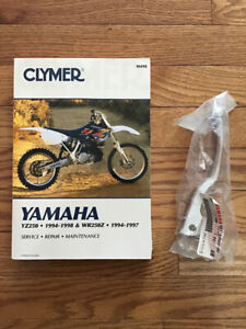 YZ250/WR250 manual & Brake lever-new