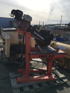Wow! Gas Table Saw for sale!! Great piece for any tradesperson!
