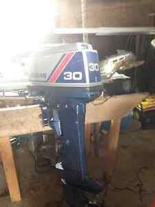 1992 Nissan 30 hp outboard motor