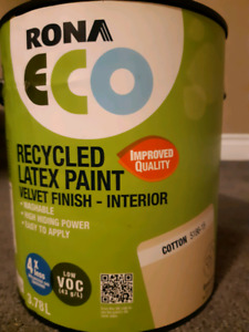4 unopened cans of interior paint