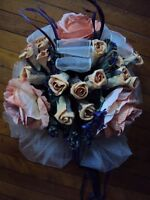 Wedding bouquet of paper flowers for shower or the big day