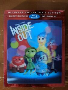 Inside Out 3D Blu-Ray Combo