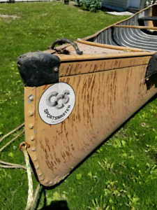 Canoes boats