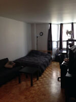 Spacious Studio - Downtown Montreal (Concordia)