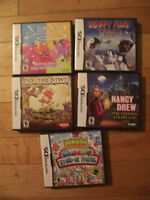 5 DS games for $15