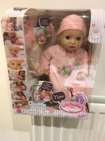 BABY ANNABELLE DOLL WITH CUTE SOUNDS
