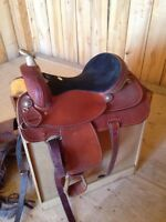 Beautiful saddle fits pretty much every horse