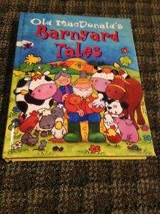 Thick hard cover Barnyard Tales book  (256 pages)