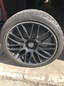 "MSR 18"" Rims with Tires for sale."