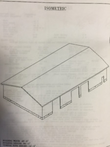 Commercial Steel Building kit for sale