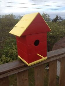 Brand New Homemade Birdhouses