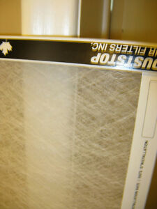 Dust Stop furnace filters, 16 x 24 x 1-inch - new