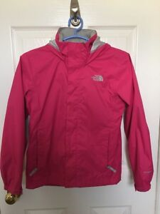 The girls North Face spring jacket. Size: M