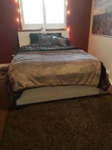"""IKEA """"BRIMNES"""" Queen Bed"""