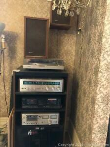 Sony Home Entertainment Stereo System, Cabinet B